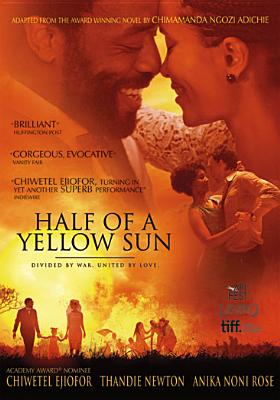 HALF OF A YELLOW SUN BY EJIOFOR,CHIWETEL (DVD)